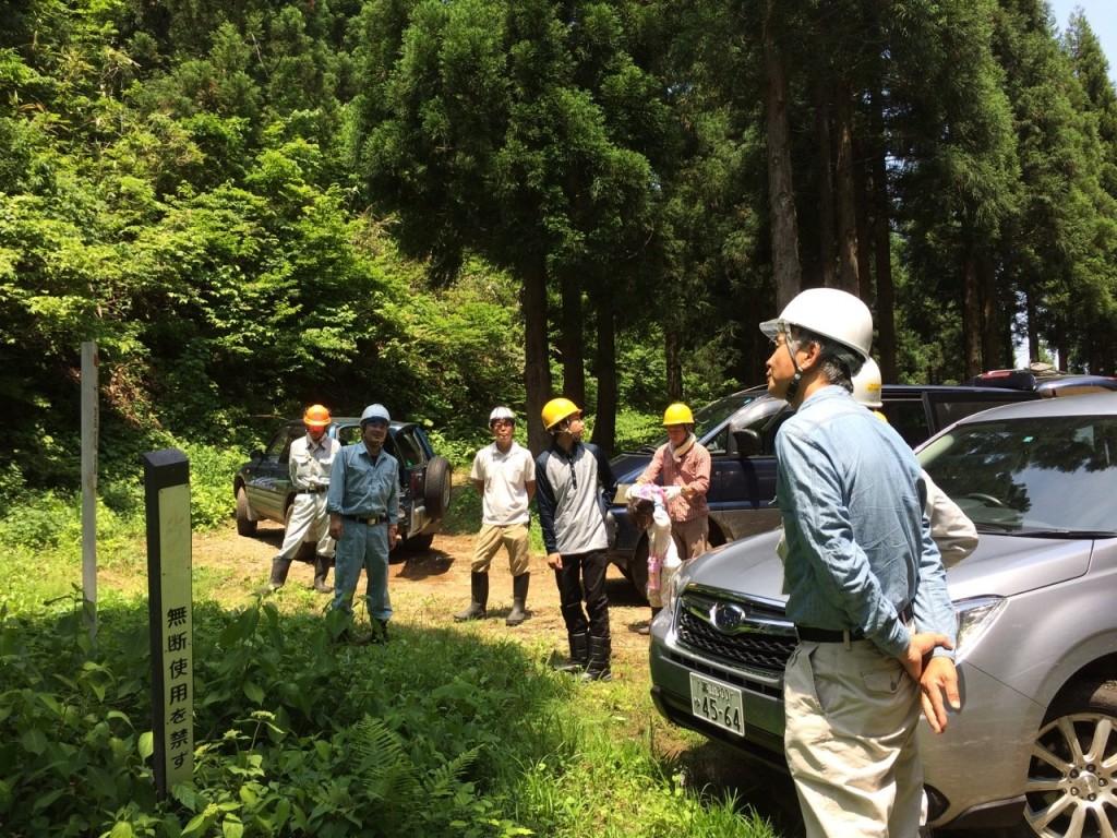 富山県 木のソムリエツアー
