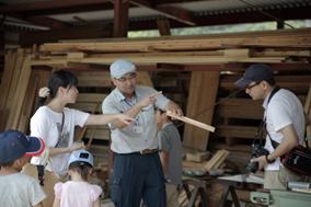 第2回木のソムリエツアー製材所に行く03